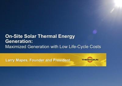 ThermaSun Investor Presentation