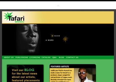 Tafari Music, Spirited Music Licensing