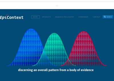 EpiContext–Washington DC Epidemiology Consultancy Website