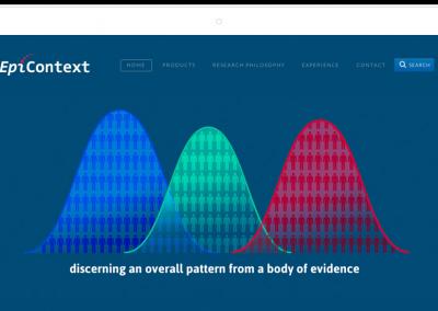 EpiContext–Washington DC Epidemiology Consultancy Website