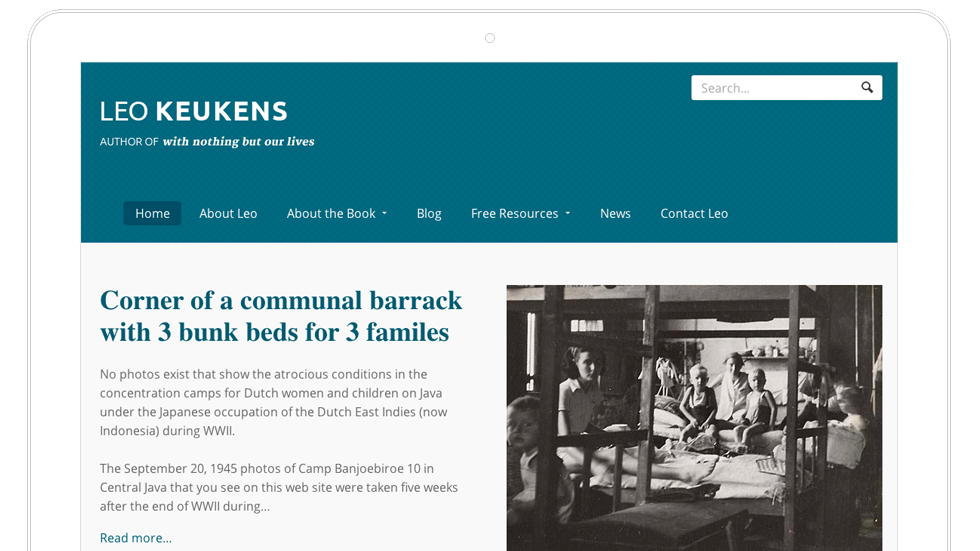 Leo Keukens–Santa Fe Author Website