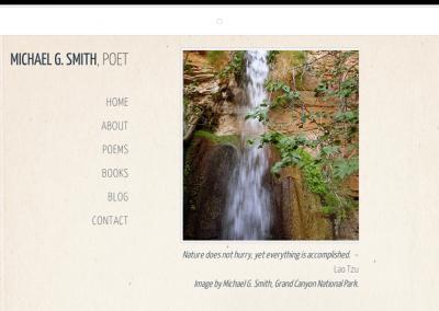 Michael Smith – Web Design Santa Fe Poet