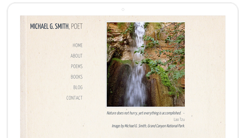 Michael Smith – Web Design Santa Fe Poet