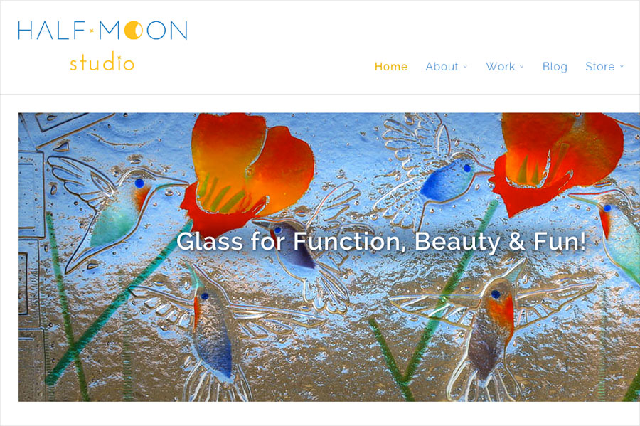 Case Study: WordPress Web Design & Marketing for Half Moon Studio