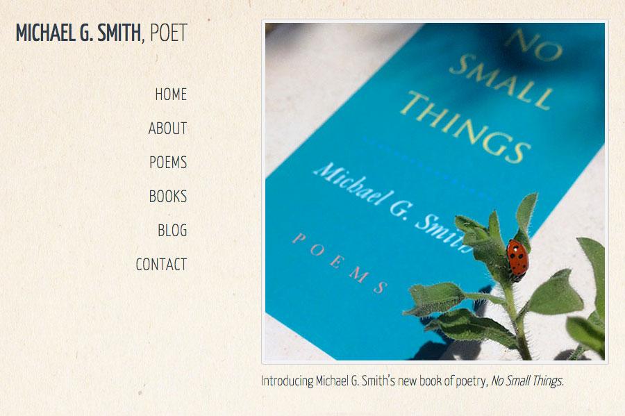 Case Study: WordPress Web Design for Santa Fe Poet