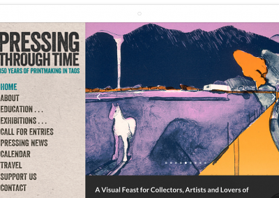 Pressing Through Time–Taos Art Festival Website