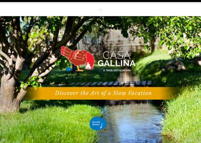 Casa Gallina–Taos Bed & Breakfast