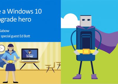 Windows 10 Upgrade Webcast Presentation for Educators