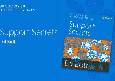 Windows 10: IT Pros Essentials Webcast Presentations